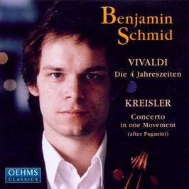 Fritz Kreisler: Concerto in one movement, Antonio Vivaldi: Le Quattro Stagioni (Oehms)