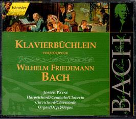 Johann Sebastian Bach: Klavierbüchlein für Wilhelm Friedemann Bach (2CD, Hänssler)