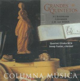 Grandes Quintetos: Baermann, Krommer, Von Weber (Columna Musica)