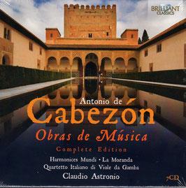 Antonio de Cabezón: Obras de Música, Completa Edition (7CD, Brilliant)