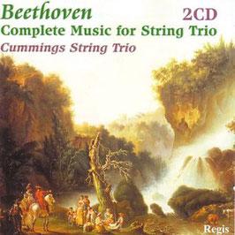 Ludwig van Beethoven: Complete Music for String Trio (2CD, Regis)