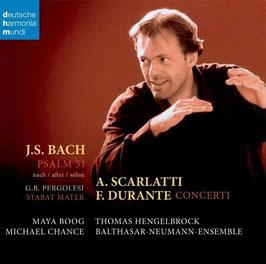 Johann Sebastian Bach: Psalm 51 nach Pergolesi, Durante: Concerti (Deutsche Harmonia Mundi)