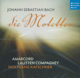 Johann Sebastian Bach: Die Motetten (Deutsche Harmonia Mundi)