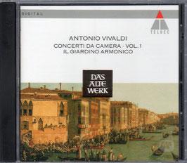 Antonio Vivaldi: Concerti da Camera vol. 1, 2, 3, 4 (4CD box, Teldec)