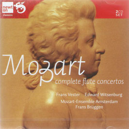 Wolfgang Amadeus Mozart: Complete Flute Concertos (2CD, Newton)