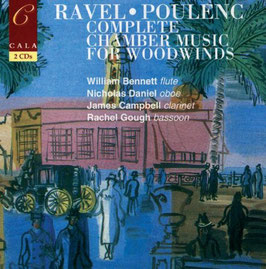 Francis Poulenc, Maurice Ravel: Complete Chamber Music for Woodwinds (2CD, Gala)