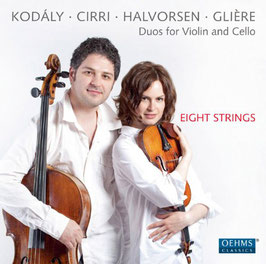 Duos for Violin and Cello: Kodály, Cirri, Halvorsen, Glière (Oehms)