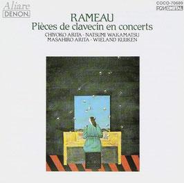 Jean-Philippe Rameau: Pièces de clavecin en concerts (Denon)