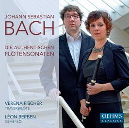 Johann Sebastian Bach: Die authentischen Flötensonaten (Oehms)