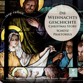 Heinrich Schütz: Die Weihnachtshistorie, Michael Praetorius: Vier Weihnachts-Motetten (Virgin)