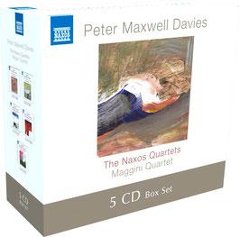 Peter Maxwell Davies: The Naxos Quartets (5CD, Naxos)