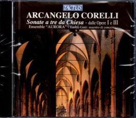 Arcangelo Corelli: Sonate a tre da Chiesa dalle Opere I e II (Tactus)