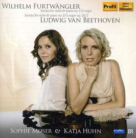 Wilhelm Furtwängler, Ludwig van Beethoven: Sonata for violin & piano no. 2 (Hänssler Profil)