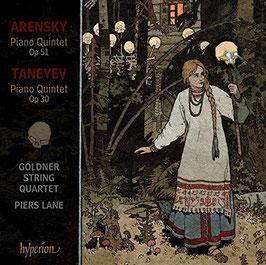 Sergei Taneyev: Piano Quintet Op. 30, Anton Arensky: Piano Quintet Op. 51 (Hyperion)