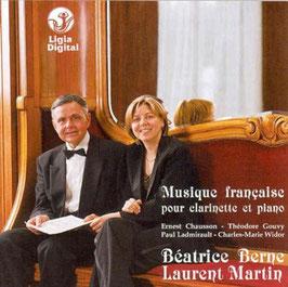 Musique française pour clarinette et piano: Chausson, Gouvy, Ladmirault, Widor (Ligia)