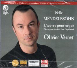 Felix Mendelssohn-Bartholdy: L'Oeuvre pour orgue (3CD, Ligia Digital)