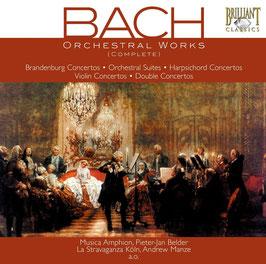 Johann Sebastian Bach: Orchestral Works (complete) (9CD, Brilliant)
