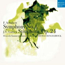 Franz Schubert: Symphony No. 1, Jan Václav Vorisek: Symphony Op. 24 (Deutsche Harmonia Mundi)
