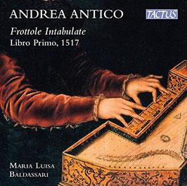 Andrea Antico: Frottole Intabulate, Libro Primo 1517 (Tactus)