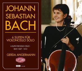 Johann Sebastian Bach: 6 Suiten für Violoncello (3CD, Glissando)