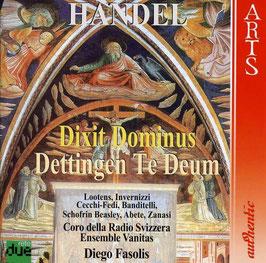Georg Friedrich Händel: Dixit Dominus, Dettingen Te Deum (Arts Authentic)