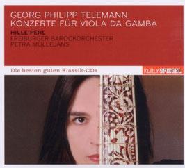 Georg Philipp Telemann: Konzerte für Viola da Gamba (Deutsche Harmonia Mundi, KulturSpiegel)