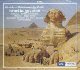 Felix Mendelssohn-Bartholdy: Israel in Ägypten (2CD, CPO)