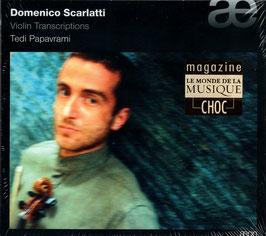 Domenico Scarlatti: Violin Transcriptions (Aeon)