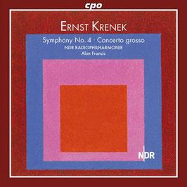 Ernst Krenek: Symphony No. 4, Concerto grosso (CPO)