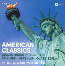 American Classics: Adams, Barber, Bernstein, Copland, Gershwin, Glass, Joplin (6CD, Warner)