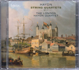 Joseph Haydn: String Quartets Op 17 (2CD, Hyperion)