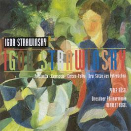 Igor Stravinsky: Pulcinella, Circus-Polka, Drei Sätze aus Petruschka (Berlin)