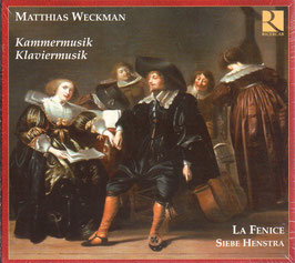 Matthias Weckmann: Kammermusik, Klaviermusik (2CD, Ricercar)
