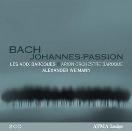 Johann Sebastian Bach: Johannes-Passion (2CD, Atma)