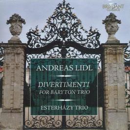 Andreas Lidl: Divertimenti for Baryton Trio (Brilliant)