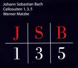 Johann Sebastian Bach:  Cellosuiten 1, 3, 5 (Stan Music)