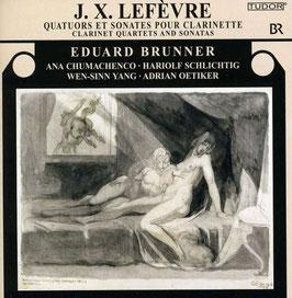 Jean Xavier Lefèvre: Quatuors pour Clarinette et Cordes V-VI et Sonates pour Clarinette (Tudor)