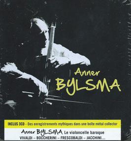 Anner Bylsma: Le Violoncelle Baroque: Vivaldi, Boccherini, Frescobaldi, Jacchini (3CD in metalen boxje, Sony)
