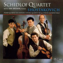 Dmitri Shostakovich: Piano Quintet in G minor, String Quartet No. 4, String Quartet No. 7 (Linn)