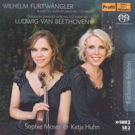 Wilhelm Furtwängler, Ludwig van Beethoven: Sonata for violin & piano no. 1 (SACD, Hänssler Profil)