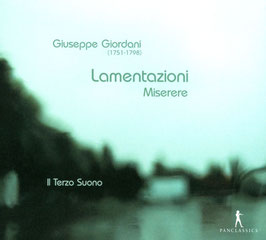 Giuseppe Giordani: Lamentazioni, Miserere (2CD, Pan Classics)