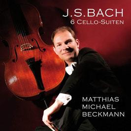 Johann Sebastian Bach: 6 Cello-Suiten (2CD, Beckmann Musik)