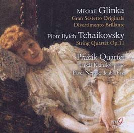 Mikhail Glinka: Gran Sestetto Originale, Divertimento Brillante, Tchaikovsky: String Quartet Op. 11 (SACD, Praga)