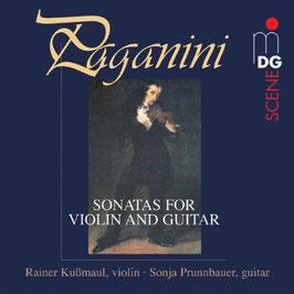 Niccoló Paganini: Sonatas for Violin and Guitar (MDG)