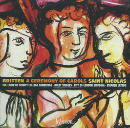 Benjamin Britten: A Ceremony of Carols (Hyperion)