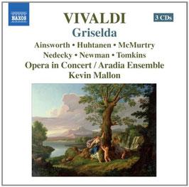 Antonio Vivaldi: Griselda (3CD, Naxos)