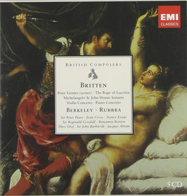 Benjamin Britten, Sir Lennox Berkeley, Edmund Rubbra: British Coposers (5CD, EMI)