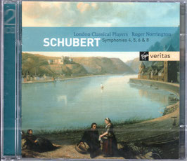 Franz Schubert: Symphonies 4, 5, 6 & 8 (2CD, Virgin Veritas)