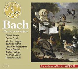 Johann Sebastian Bach: Onze concertos (2CD, Diapason)