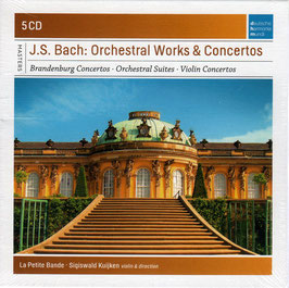 Johann Sebastian Bach: Orchestral Works & Concertos (5CD, Deutsche Harmonia Mundi, DHM)